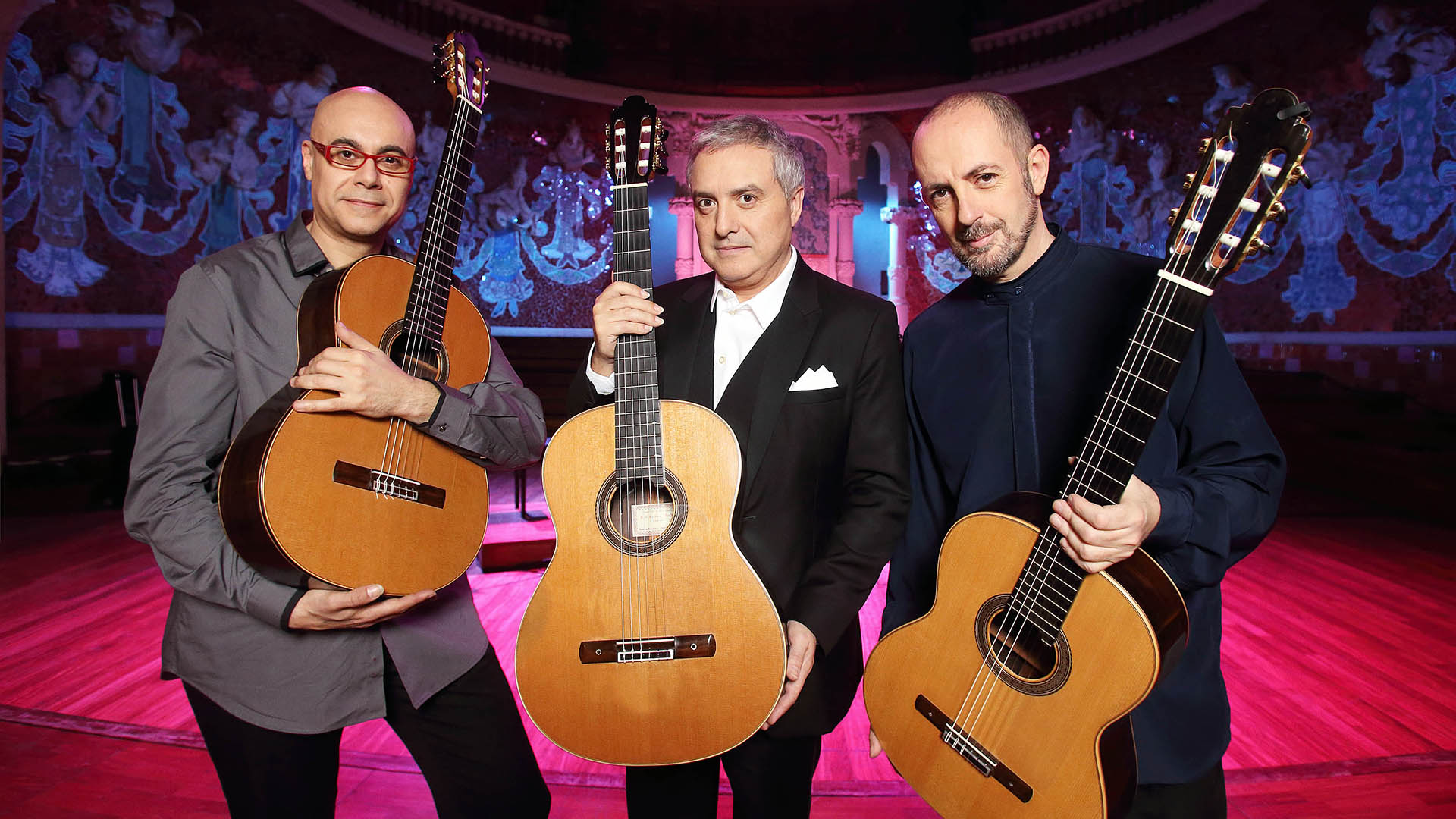 Homenaje A Paco De Lucía Barcelona Guitar Trio Palau De La Música Catalana