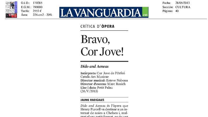 Bravo, Cor Jove!