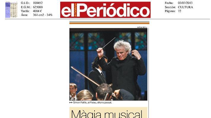 Magia musical en el Palau