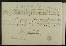 El Cant de la Senyera 1918