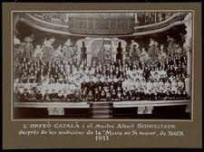 Orfeó Català 1911