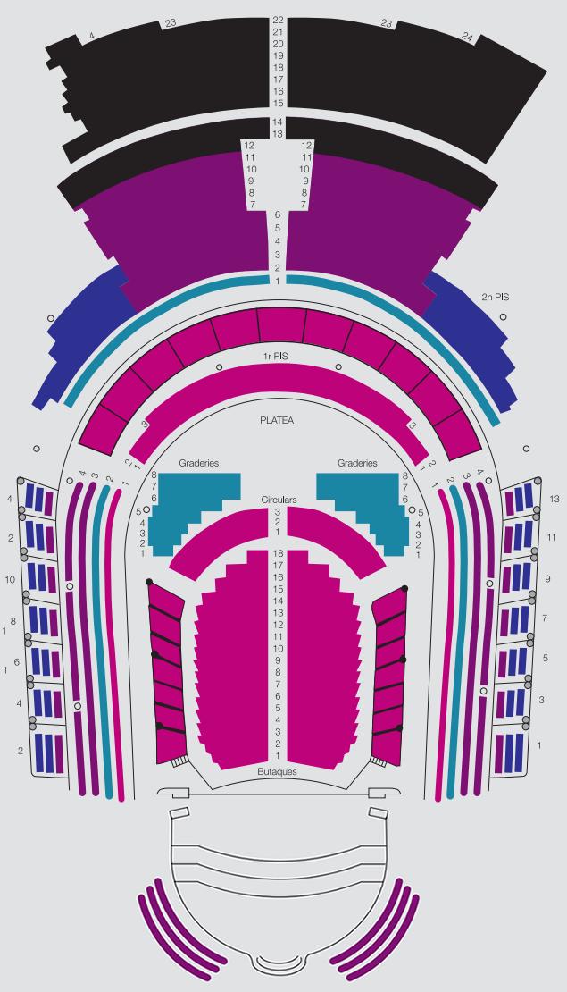 Zones Sala de Concerts