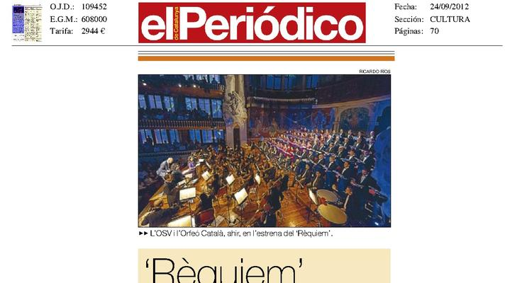 """Requiem fresco y visual"""