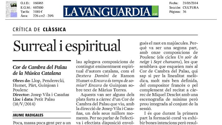 Surreal y espiritual
