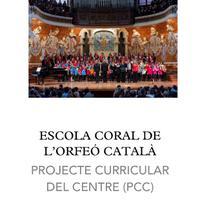 Projecte Curricular Centre Escola Coral