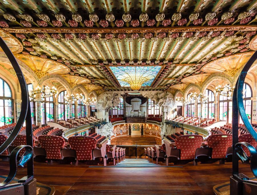 The Concert Auditorium Palau De La Musica Catalana