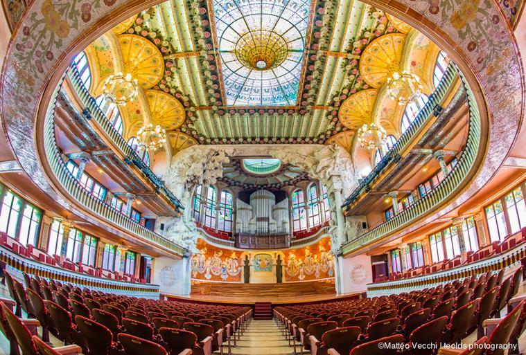 El primer palau 2017 commitment to youth and talent palau de la m sica catalana - Casas de musica en barcelona ...
