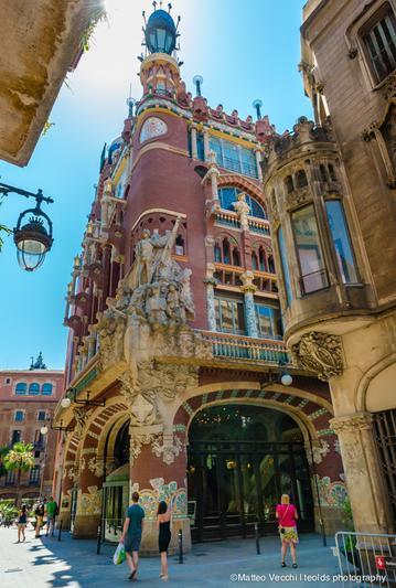 de Palau building la Art The Música | Catalana Nouveau