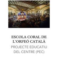 Projecte Educatiu Escola Coral