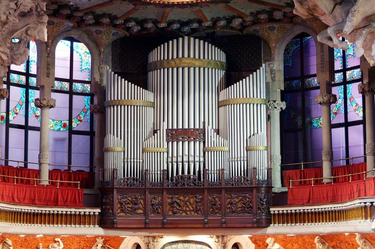 Organ of the Palau de la Música - Barcelona