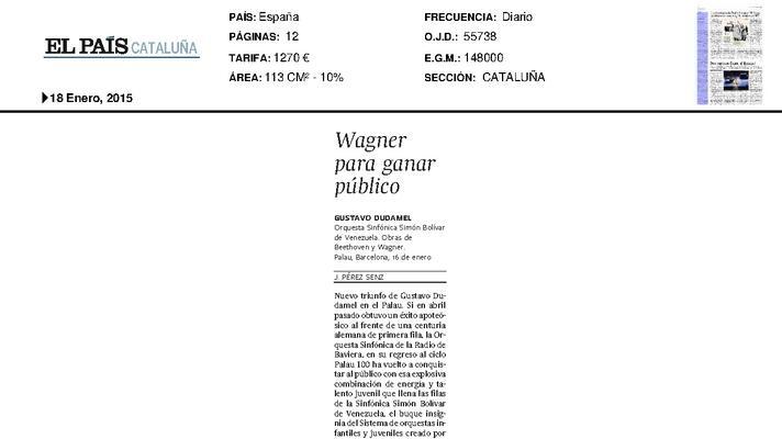 Wagner para ganar público