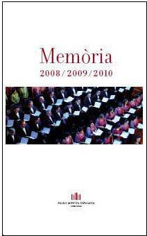 Portada Memòria 2008-2009-2010