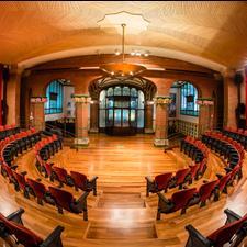 Sala de Ensayo del Orfeó Català - Palau de la Música - Bacelona (c)Matteo Vecchi