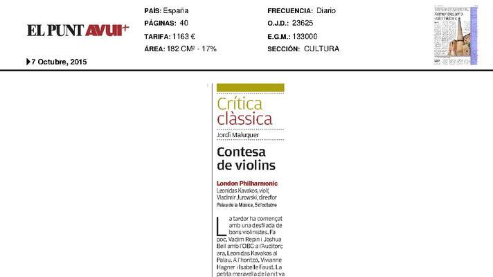 Contesa de violins
