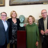 Josep Cuní, Helena Mora, Mariona Carulla i Jaume Comellas © Antoni Bofill