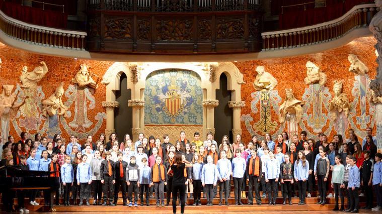 Concert d'Any Nou Escola Coral