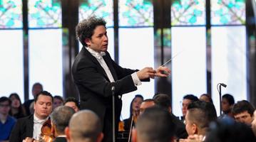 Gustavo Dudamel al Palau