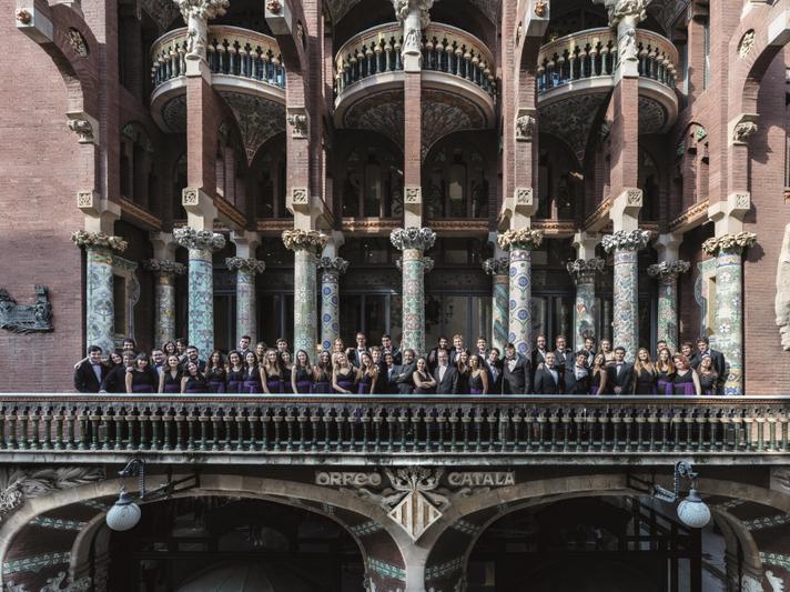 COR JOVE de l'Orfeó Català 2017_ balcó (c)Ricardo Ríos Visual Art