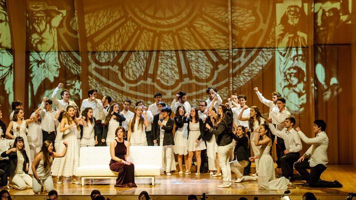 COR JOVE DE L'ORFEÓ CATALÀ-Dido & Aeneas 2013 (c) Lorenzo di Nozzi