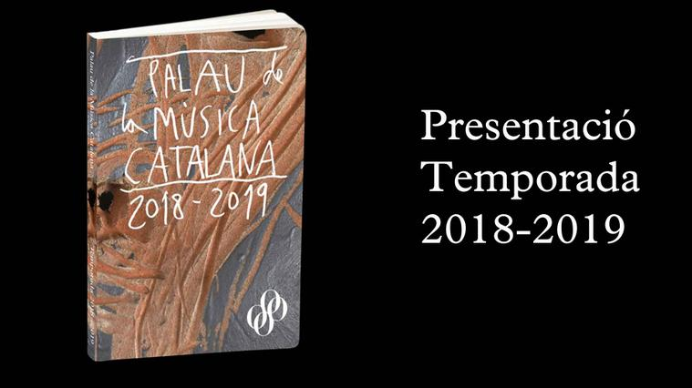 Presnetació temporada 2018-2019