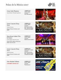 2017 - Llistat de Concerts