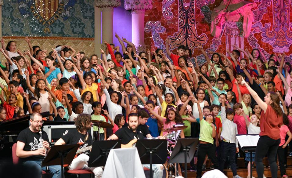 Concert de fi de curs de Clavé XXI