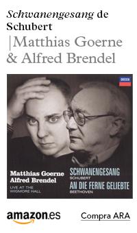 Comprar a Amazon Schubert-Schwanengesang