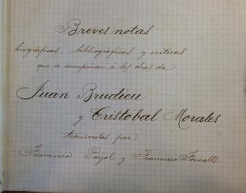 breves notas Joan Brudieu