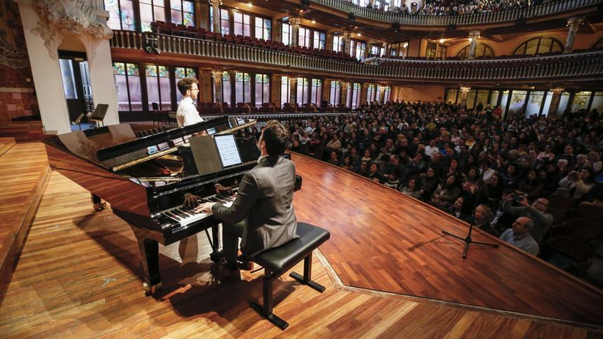 Visita + solistes cor + piano