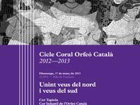 Programa de mà Cor Tapiola Cicle Coral