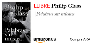 Amazon llibre Philip Glass