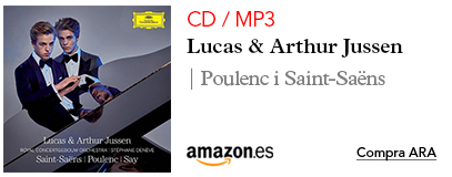 Amazon Jussen MP3 / CD Poulenc, Saint-Saens, Say