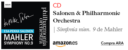 Amazon CD Simfonia #9 de Beethoven amb Salonen