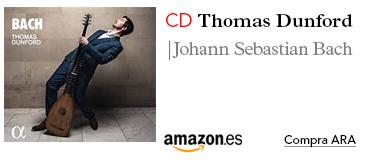 Amazon CD: J.S.Bach: Musica Para Laud / Dunford