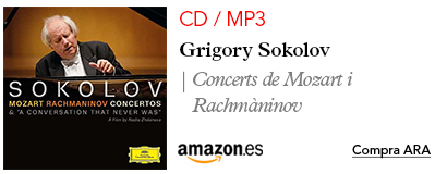 Amazon Sokolov-MP3 / CD Últim àlbum Mozart i Rachmàninov