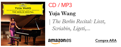Amazon Yuja Wang-CD / MP3 Recital de Berlin