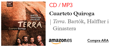 Amazon Cuarteto Quiroga-CD / MP3 Terra