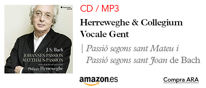 Amazon Herreweghe-CD Passions de Bach