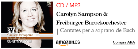 Amazon Sampson- CD / MP3 Cantatas For Soprano