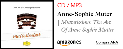Amazon Mutter - CD / MP3 Mutterissimo: The Art Of Anne Sophie Mutter