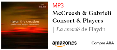 Amazon McCreesh-CD La Creació de Haydn