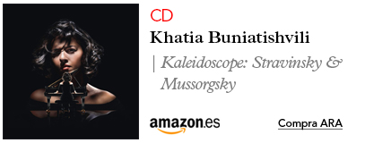 Amazon  Khatia Buniatishvili-CD Kaleidoscope: Pictures At An Exhibition