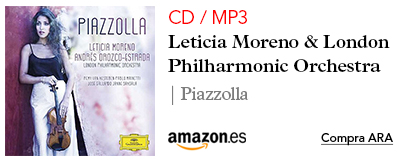 Amazon Leticia Moreno-CD / MP3 Piazzolla