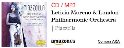Amazon Leticia Moreno-CD / MP3 Piazzolla