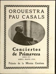 Expo Orquestra Pau Casals