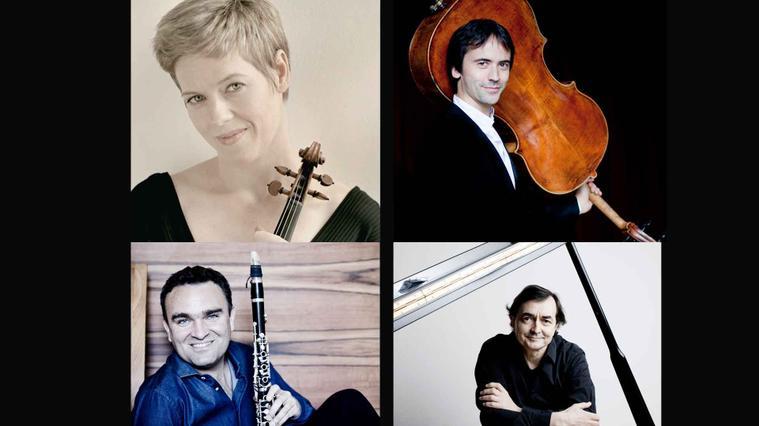 Faust, Queyras, Widmann & Aimard