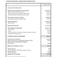 Pressupost 2020. Fundació Orfeó Català - Palau de la Música Catalana