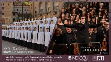 Escolania de Montserrat i l'Orquestra Simfònica del Vallès