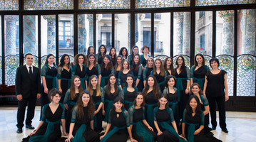 Cor de Noies de l'Orfeó Català (c)Antoni Bofill
