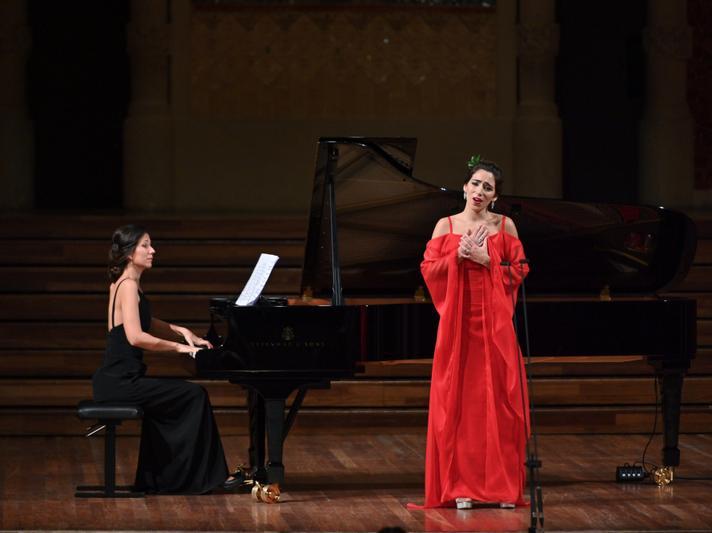 GANCEDO, Mercedes y MIRALLES, Beatriz (piano) (c)Antoni Bofill